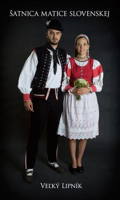 Kostýmy a kroje – Matica slovenská Folk Costume, Costumes, Heart Of Europe, Folk Fashion, Culture, Beautiful, Folk Clothing, Slovenia, Embroidery