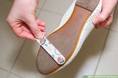 How to Make Shoes Less Slippery. New shoes, especially those with plastic or leather soles, can have frustratingly slippery soles, as can older shoes that are worn smooth by years of wear and tear. As minor as it may sound, having slippery. Vaseline Beauty Tips, Diy Clothes And Shoes, Bra Hacks, Old Shoes, Girl Tips, How To Make Shoes, Clothing Hacks, Tack, Fashion Shoes