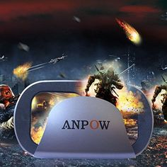 Anpow VR Headset Glasses Virtual Reality Mobile Phone 3D Movies for iPhone 6s6 plus65s5c5 Samsung Galaxy s5s6note4note5 and Other 4760 Cellphones ** Click image to review more details.Note:It is affiliate link to Amazon.