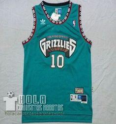 c5a2553e3f38 Camiseta Mike Bibby  10 Verde Memphis Grizzlies €21.9 Memphis Grizzlies