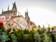 Alex and Ani HARRY POTTER™ SORTING HAT™ Charm Bangle Discover where you belong.   Instagram : @themeparksnrecreation So, where shall I put you? ✨