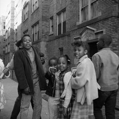 Vivian Maier: Out of the Shadows - Children on street, Chicago, 1968