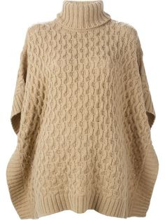 Shop Michael Michael Kors cable knit poncho sweater in O' from the world's best independent boutiques at farfetch.com. Shop 300 boutiques at one address.