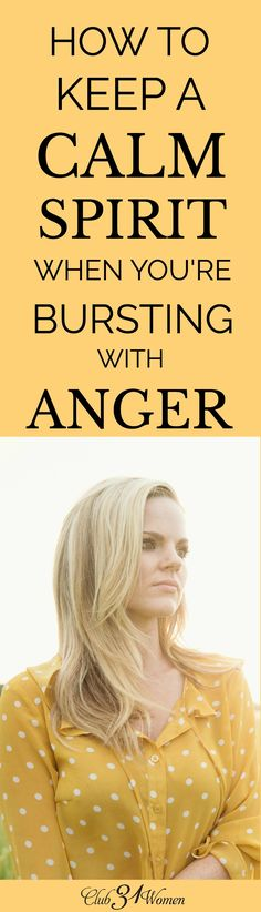 Anger isn't a sin until we allow it to overtake us. Here are some practical…
