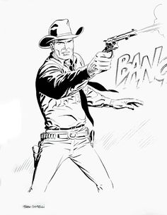 83 best lineart western images westerns ic book ics Red Dead Redemption 2 tex willer colouring pages west art cowboy art wild west western theme