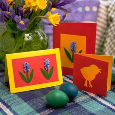 Easter crafts for kids | Easter 2011 | How to craft an Easter card