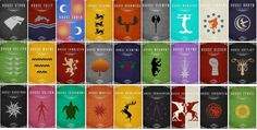 game of thrones family sigils and mottos - Google Search