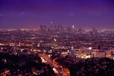 The view from Mulholland Drive Los Angeles (a view to have)