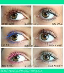colored mascara - Google Search