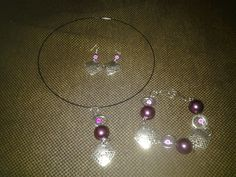 'hand made jewelery kit in purple' is going up for auction at  1pm Thu, Sep 6 with a starting bid of $8.