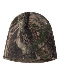 Realtree Camo Knit Beanie  Realtree Camo Knit Beanie Polyester Knit Beanie  Lined with Black Knit. Great for cold weather 2165980c2