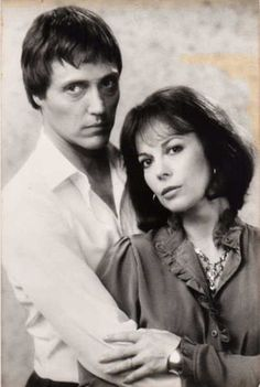 """Christopher Walken and Natalie Wood  in """"Brainstorm"""".   Her last film, and a  really good one...."""