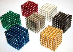Neocube 3D puzzel met magneetballetjes div kleuren