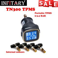 TN300 Wireless tire pressure monitoring tpms system monitor 4 internal sensors For renault peugeot toyota and all car free ship (32585999729)  SEE MORE  #SuperDeals