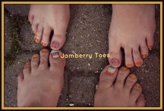 Pedicures with Jamberry Accent! Jamberry, Pedicure, Summer, Nails www.lauriewilcox.jamberrynails.net