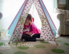 Little Lizard King Tee Pee Tent Review