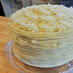 Firmer Cream Cheese frosting recipe, for if I want to pipe on cupcakes