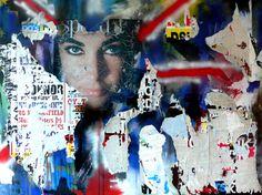 Anna Schellberg, Urban Art, Decollage, British, London