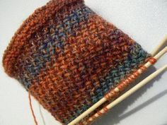 What great stitch! Would make a nice cowl stitch: Milano Stitch/Side Step Stitch... Even number of stitches, work pattern as follows: Row 1 – *S1, K1, yo, psso both. Repeat from * to end. Row 2 – P across to end. Row 3 – K1 *Sl1, K1, yo, psso both. Repeat from *to last stitch, end K1. Row 4 – P across to end..