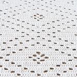 Helminauha-matto virkattu ontelokude, Kauhavan kangasaitta - carpet crocheted