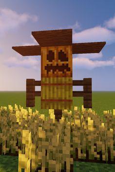 Minecraft building idea for your farms Casa Medieval Minecraft, Minecraft Statues, Minecraft Garden, Minecraft Farm, Minecraft Structures, Minecraft Houses Survival, Cute Minecraft Houses, Minecraft Plans, Amazing Minecraft