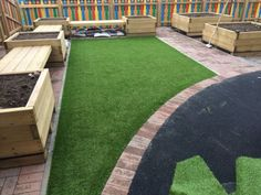 Synthetic Nursery Playground Surface in Langford 10