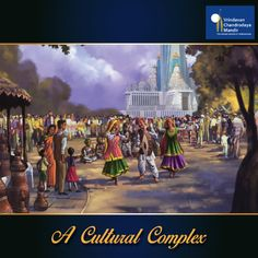 The Chandrodaya Mandir complex will not only become a centre for Krishna consciousness but also support a wide variety of cultural activities. Contribute in building this cultural complex
