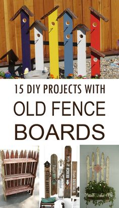 159 Best Fence Board Crafts Images In 2019 Recycled Wood