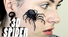 This is a fun makeup to try out to scare the pants off of people, especially since most people seem to be terrified of spiders. Description from letzmakeupblog.com. I searched for this on bing.com/images
