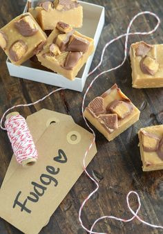 Microwave Reese's Peanut Butter Fudge! Couldn't be easier!