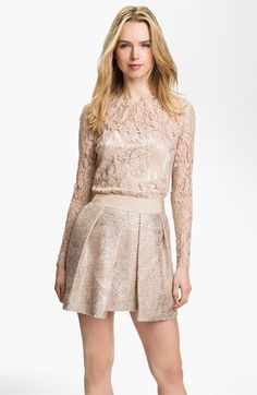 Milly 'Ivy' Lace Blouse available at #Nordstrom