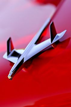 1955 Chevrolet Bel Air Nomad Hood Ornament by Jill Reger---THE HOOD ORNAMENT I MISS THEM TODAY ON CARS