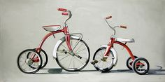 Christopher Stott - Two Tricycles, 2009