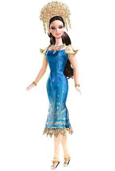 Indonesia - Sumatra Barbie | Community Post: 30 Barbies From Around The World