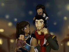 What if korra and mako had kids?