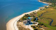 """Daufuskie Island is the perfect beach escape,"" states DatingAdvice.com, which named this island located between Savannah, Georgia and Hilton Head Island, South Carolina as one of the ""16 Sexiest Beaches in America""! #SCLowcountry #Daufuskie #SexiestBeach"
