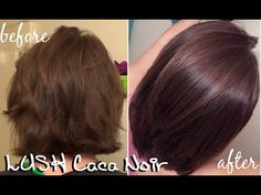 Here is my second experience dying my hair with Lush Henna Hair Dye in Caca Noir. These are my results, let me know what you think and what has been your exp. Lush Henna Hair Dye, Henna Natural Hair, Henna Hair Color, Color Your Hair, Natural Hair Styles, Black Hair Dye, Dark Hair, Dying My Hair, New Haircuts