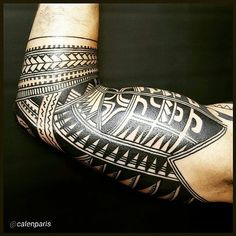 25 Best Maori Tattoo Designs - Strong Tribal Pattern Check more at http://tattoo-journal.com/25-best-maori-tattoo-designs/