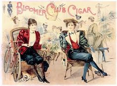 Alpena Tweed and Bike Club: Bloomers and Women's Fashion Victorian Era, Victorian Fashion, Renaissance, 1890s Fashion, Women's Fashion, Cigar Club, Vintage Labels, Vintage Ads, Vintage Posters