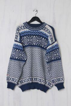 Nordic DesignNorweger-Pullover aus Schurwolle Second Hand Trends, Two Hands, Vintage, Sweaters, Design, Fashion, Moda, Fashion Styles, Sweater