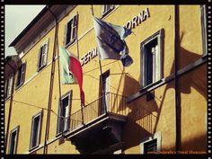 Italian & European Union Flags