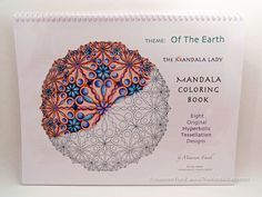 Of the Earth Mandala Coloring Book by TheMandalaLady on Etsy, $18.00