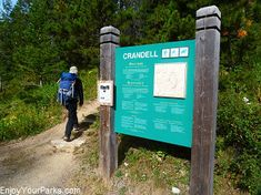 Crandell Lake Trail in Waterton Lakes National Park. Includes the Top Things To Do In Waterton Lakes National Park. Waterton Park, Waterton Lakes National Park, National Parks, Stuff To Do, Things To Do, Hiking, Outdoor Decor, Things To Make, Walks