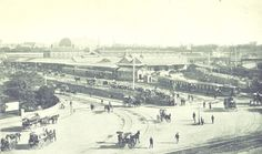 Picture of Redfern Station in back when Sydney only had one station. Mystery Of History, Historical Pictures, Vintage Photography, Paris Skyline, Sydney, Past, Australia, Aussies, South Wales
