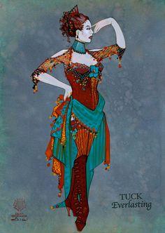 Tuck Everlasting (Country Carnival Costume #2). Costume design by Gregg Barnes.