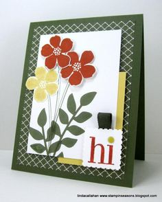 Autumn Flowers by abbysmom2198 - Cards and Paper Crafts at Splitcoaststampers