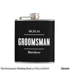 The Groomsman   Wedding Flask Best Man Wedding, Wedding Men, Wedding Bridesmaids, Rustic Wedding, Wedding Ideas, Wedding Planning, Dream Wedding, Wedding Stuff, Gifts For Wedding Party