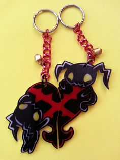 Kingdom Hearts Heartless Couples/Friends by JuliesNovelties, $15.00