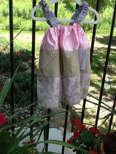 Upcycled scraps + fringe on the bottom = fantastic summer long top or dress!
