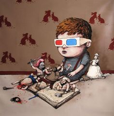 Dran is 31 year old french street-artist. He became interested in painting in…